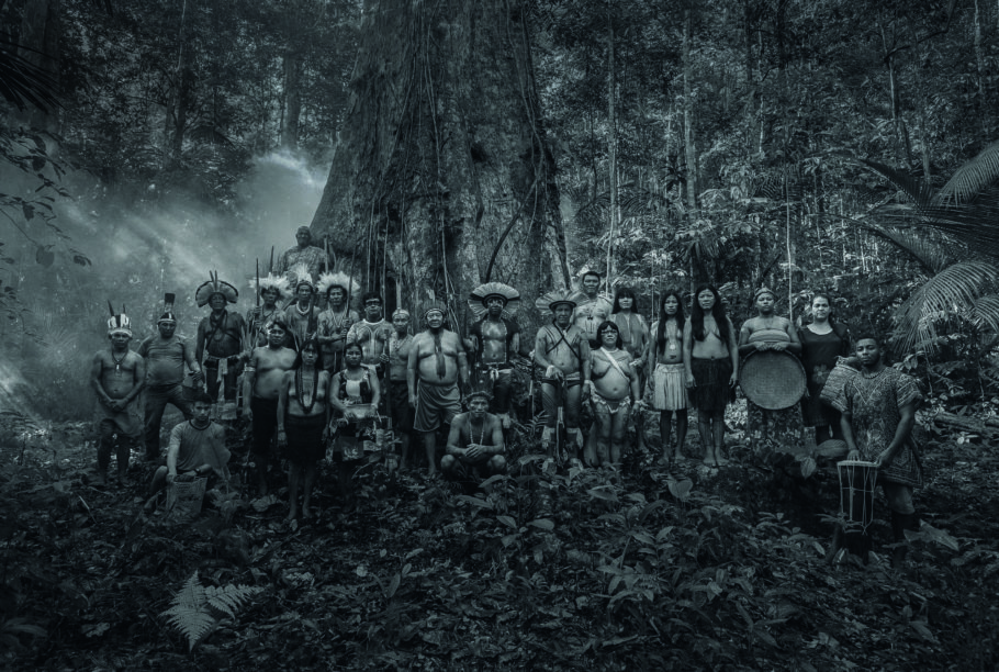 25 lideranças de povos indígenas e populações tradicionais na floresta