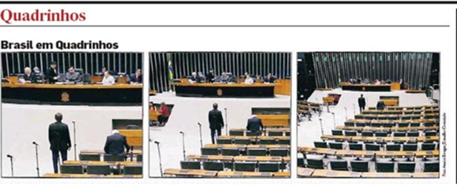 Uma das campanhas contra a corrupção do Estadão colocou problemas do Brasil nos quadrinhos