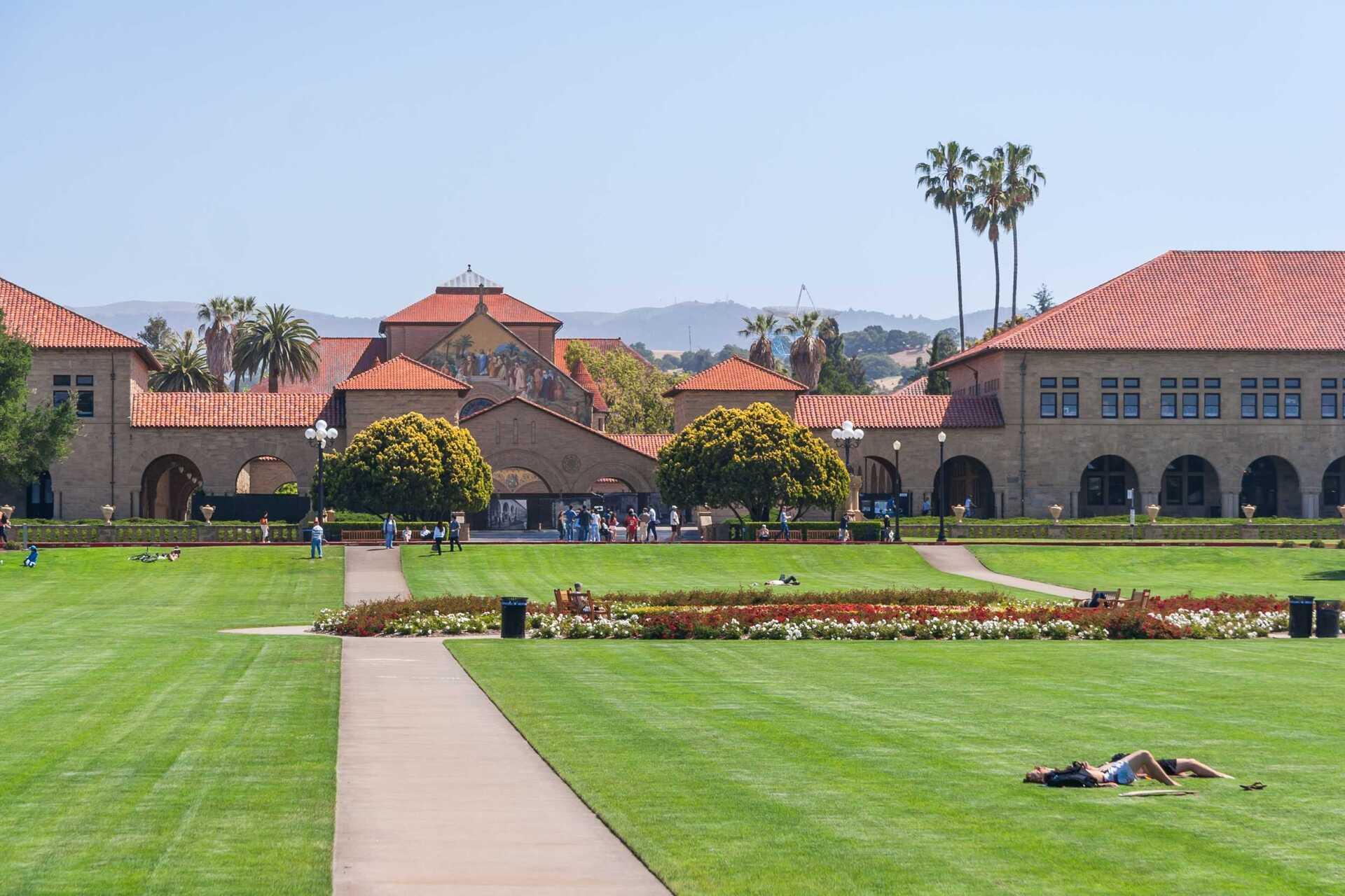 Campus da Universidade de Stanford, nos EUA
