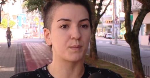 SC: Cantora de rap desmaia ao ser agredida com 'mata-leão' por PM