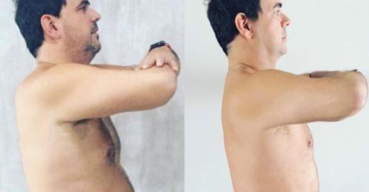 Carioca começa dieta e elimina 4 quilos em 20 dias