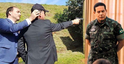 Recusa de Bolsonaro em enquadrar filho gera mal-estar com militares