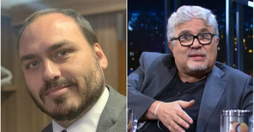 Carlos Bolsonaro manda jornalista do O Globo 'chupar uma cana'