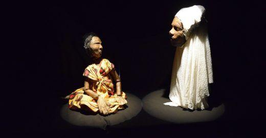 Teatro de boneco resgata história e diversidade africana