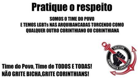 corinthians homofobia