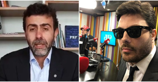 Condenado de novo: Danilo Gentili vai indenizar Marcelo Freixo