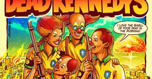 Após polêmica, banda Dead Kennedys diz que não autorizou cartaz