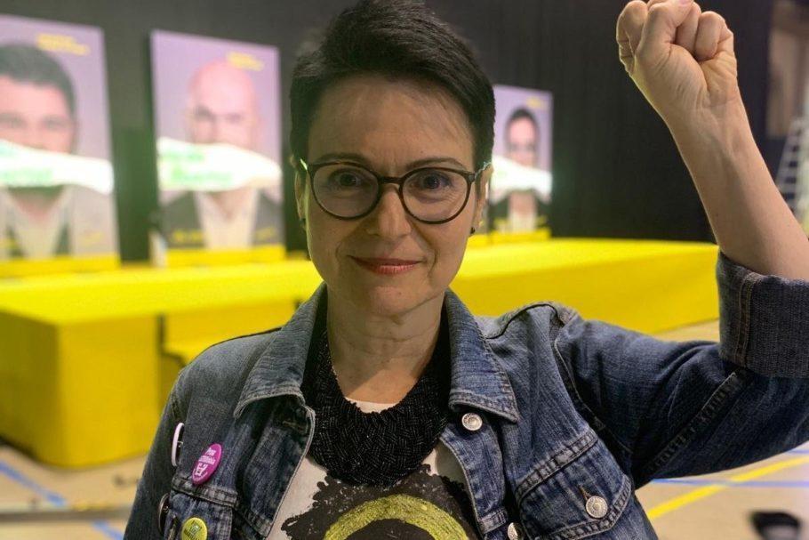 deputada Maria Dantas, eleita na Espanha