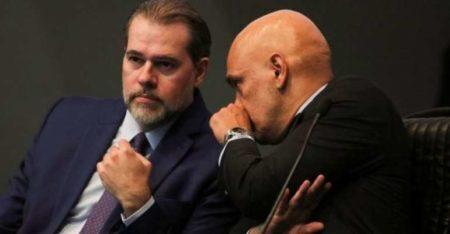 Dias Toffoli e Alexandre de Moraes