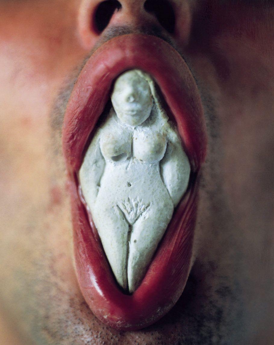 O Escultor e a Deusa, 1995 Fotografia 100 x 80 cm