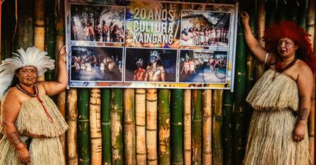 """exposição """"Resistência Já! Fortalecimento e União das Culturas Indígenas"""" do Museu de Arqueologia e Etnologia (MAE) da USP"""