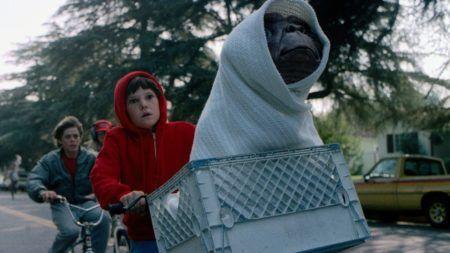 cena de E.T. - O Extraterrestre