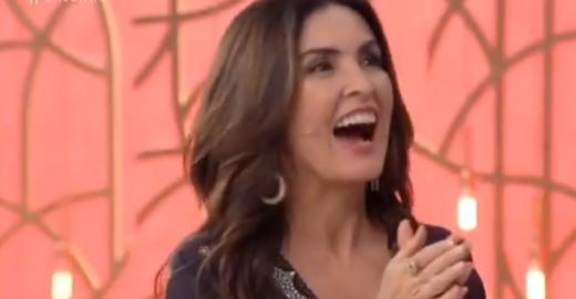 Entrevistado pergunta se Fátima é casada com Bonner e a faz rir