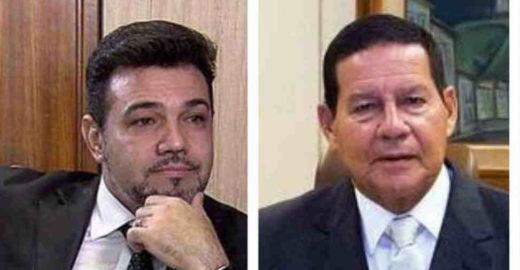 Feliciano declara guerra a Mourão com pedido de impeachment