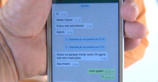 Homem mata esposa no motel e avisa o irmão por mensagens
