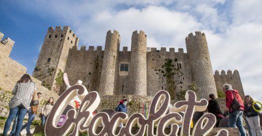 Óbidos, em Portugal, celebra o chocolate em festival temático