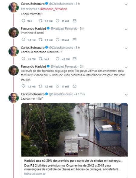 haddad carlos bolsonaro