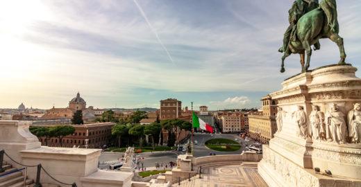Roma, a 'affascinante' e romântica 'Cidade Eterna'