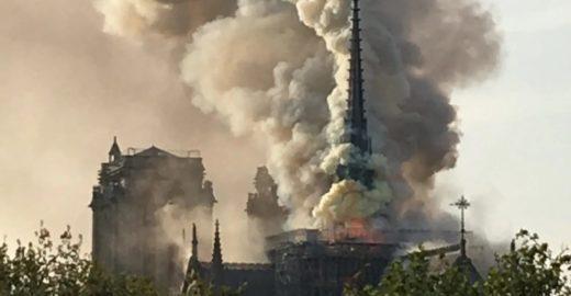 Procuradoria aponta que incêndio na Notre-Dame foi acidente