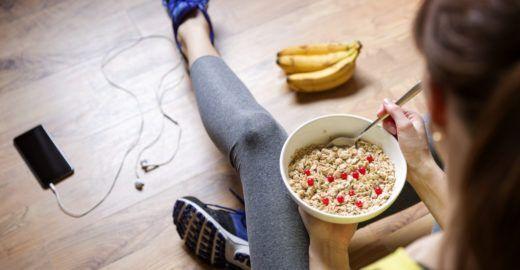 Rotina de exercícios influencia positivamente na alimentação