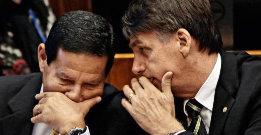 Áudios do WhatsApp revelam Bolsonaro já candidato e ódio a Mourão