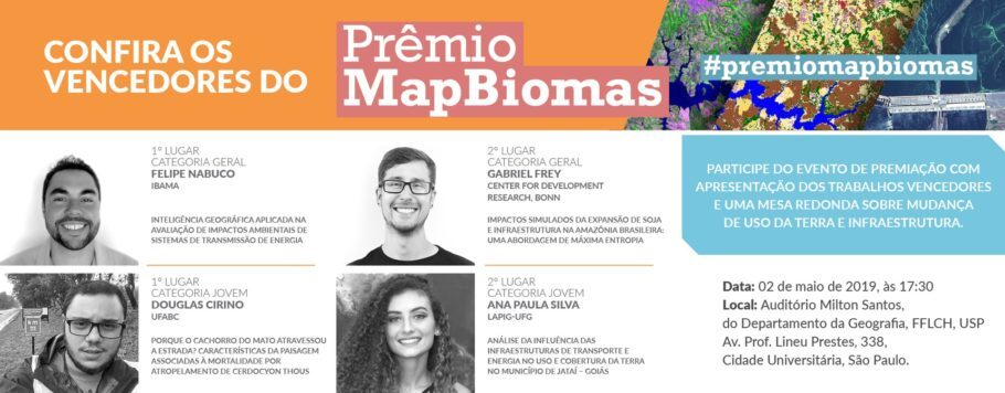 Vencedores do Prêmio MapBiomas