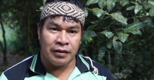 'A gente vive levando bomba de gás', afirma liderança indígena