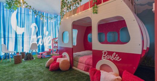 Hotel no México cria suíte para celebrar os 60 anos da Barbie