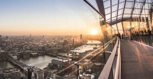 5 lugares secretos para ver Londres do alto
