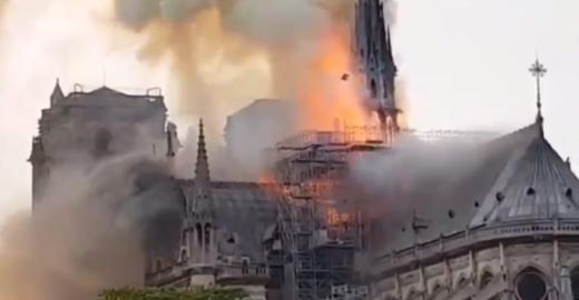 Bombeiros declaram salva a estrutura da Catedral de Notre-Dame