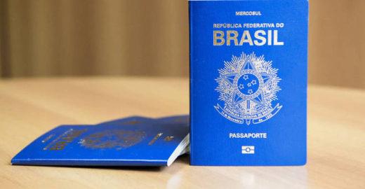 Passaporte brasileiro voltará a ter do brasão da República