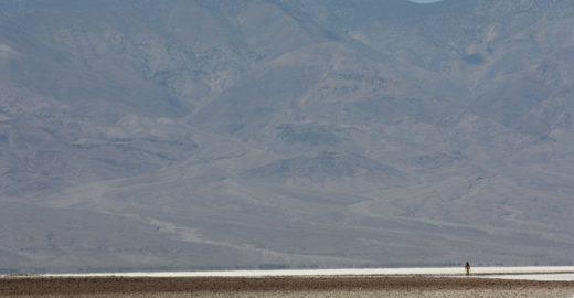 Uma aventura no deserto em pleno Death Valley