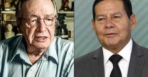 Folha: guru de Bolsonaro está por trás do impeachment de Mourão