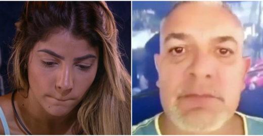 Pai de Hariany detona Globo por ter expulsado a filha do BBB 19
