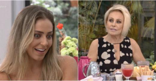 Ana Maria é criticada por omitir polêmicas de Paula ao vivo