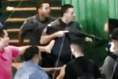 policial agride aluna escola guarulhos