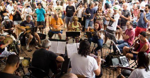 Roda de Choro Arruma o Coreto embala os domingos na São Salvador