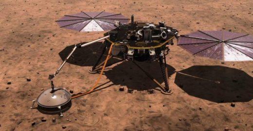 Até em Marte a terra está tremendo; ouça o áudio histórico
