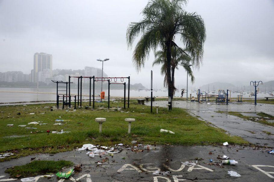 temporal no Rio de Janeiro