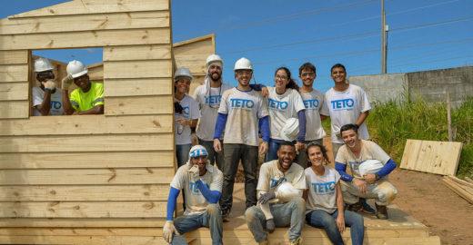 TETO lança campanha de financiamento para construir 150 casas