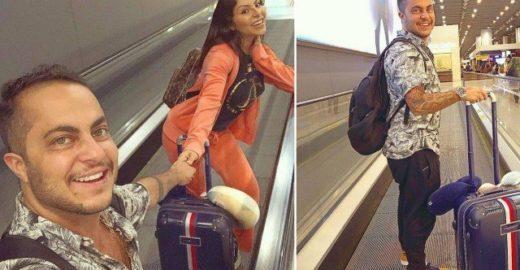 Thammy Miranda vai aos EUA com Andressa Ferreira: 'só volto pai'