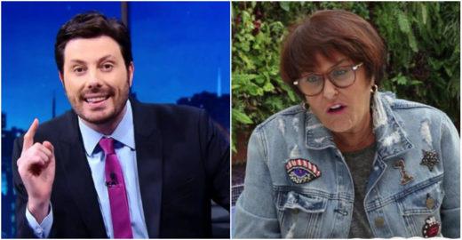 Sensitiva revela que Danilo Gentili na verdade é bissexual