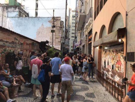 Tour explora a história da sociedade carioca, de ruas e becos