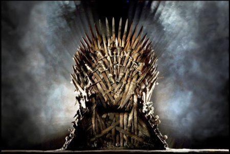 trono de ferro de game of thrones