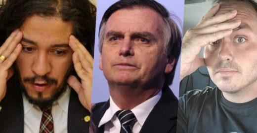 Jean Wyllys defende Haddad e insinua que Carlos Bolsonaro é gay