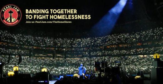 Pearl Jam doa R$ 40 mi para construir casas para moradores de rua
