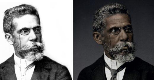 Movimento pede troca de foto embranquecida de Machado de Assis