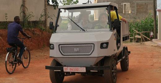 Alemães criam carro elétrico exclusivo para África subsaariana