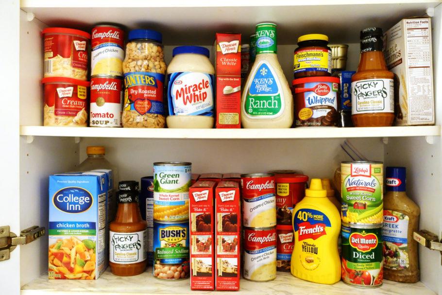 Alimentos ultraprocessados são cheios de conservantes, edulcorantes ou intensificadores de cor