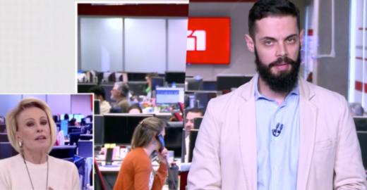 Ana Maria lança novo meme: qual a cor do blazer de Cauê Fabiano?